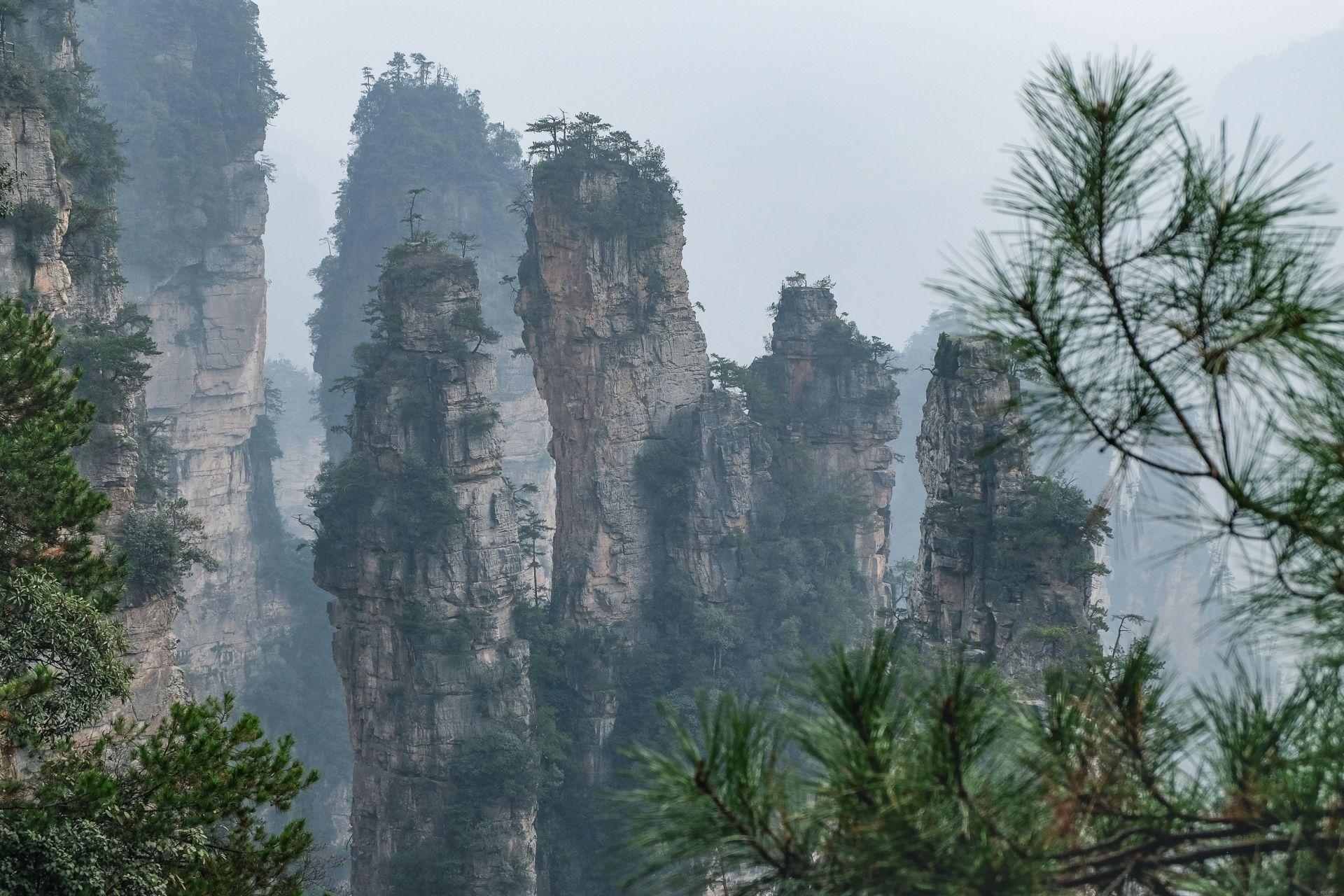 Zhangjiajie Nationalpark: 3-Tagestour inkl. Tianmen Mountain