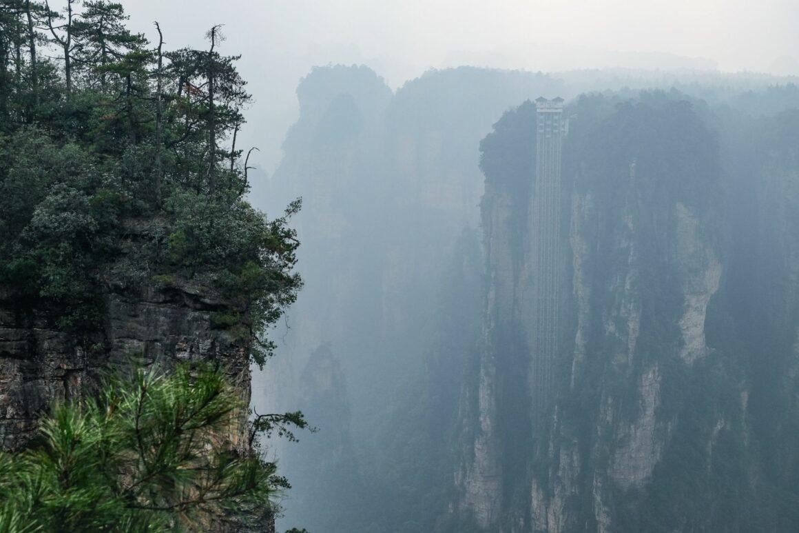 Bailong Aufzug Zhangjiajie