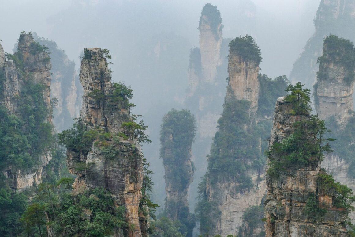 Gathering Soldiers Zhangjiajie Nationalpark