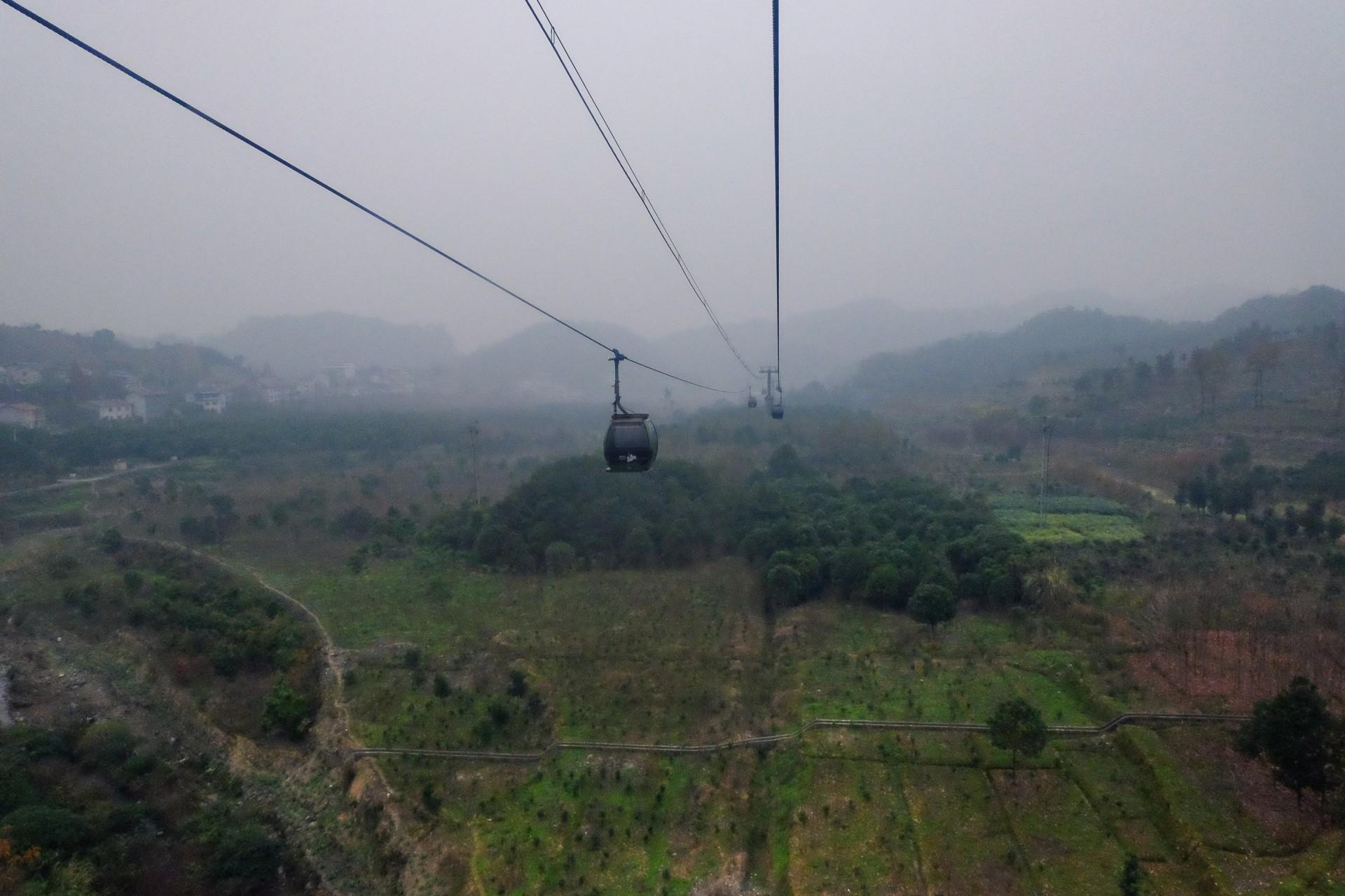 Tianmenshan Seilbahn