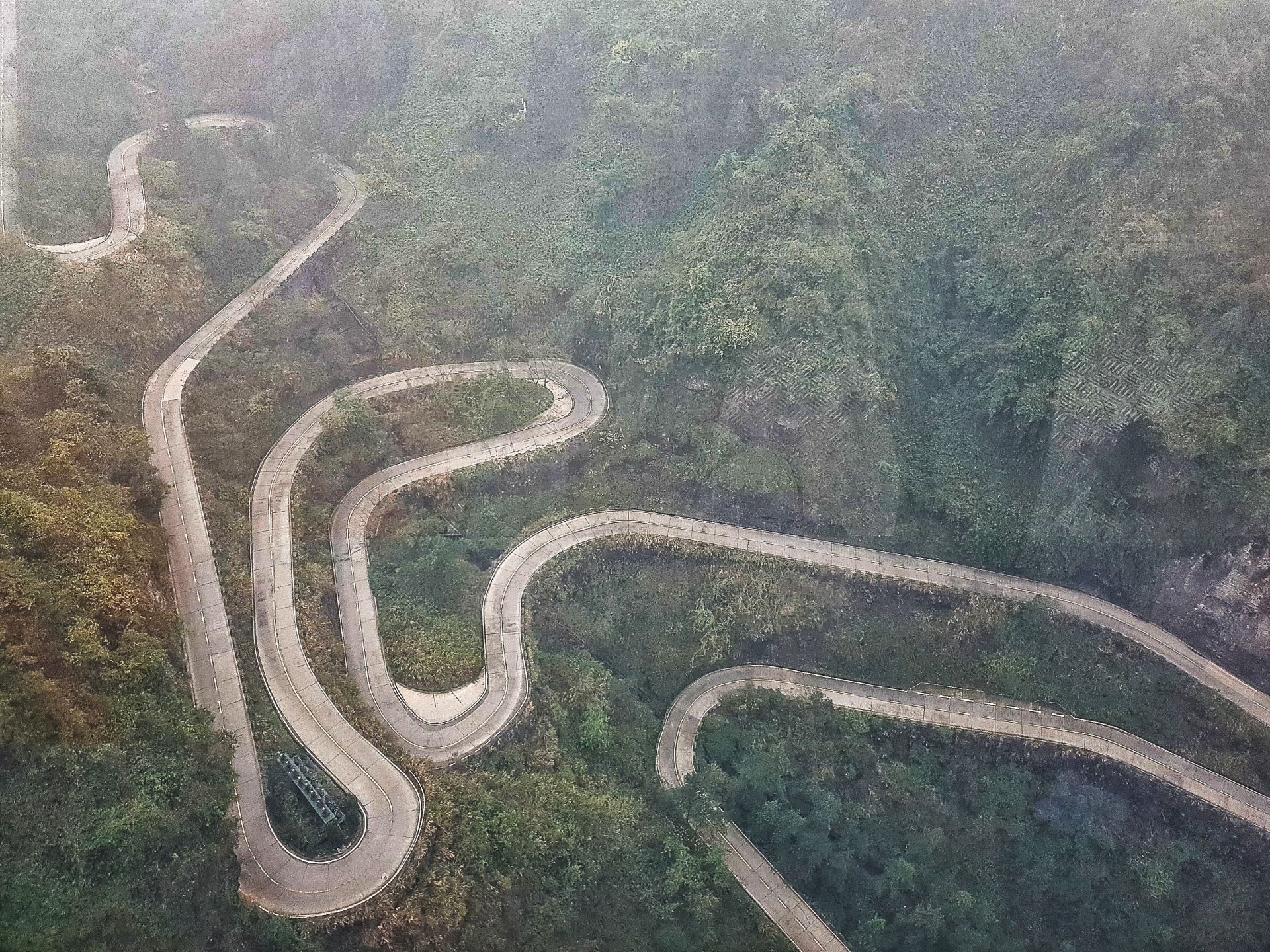 99-Bend Road Tianmen Mountain