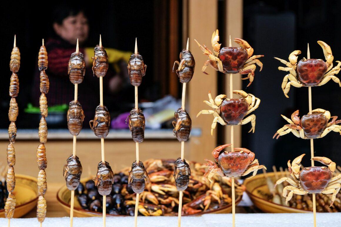 Wulingyuan street snacks