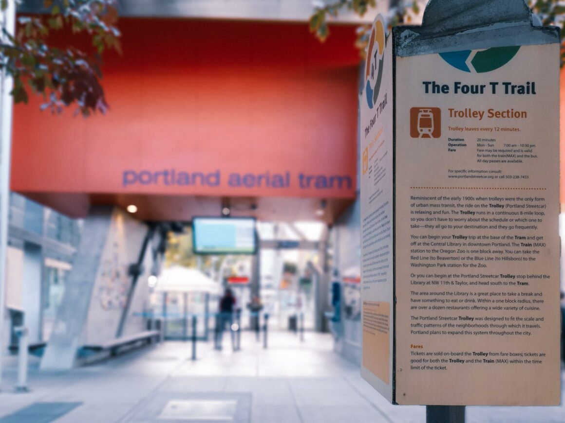 4T Trail Portland Aerial Tram