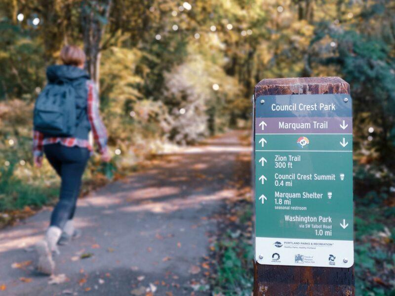 4T Trail Portland Marquam Trail