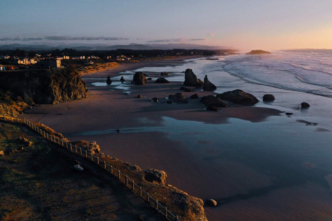 Bandon Beach Oregon Coast