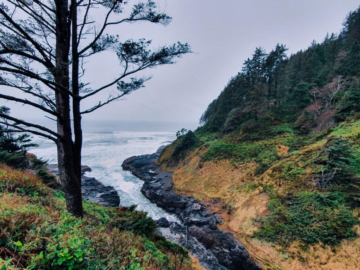Devil´s Churn Oregon Coast