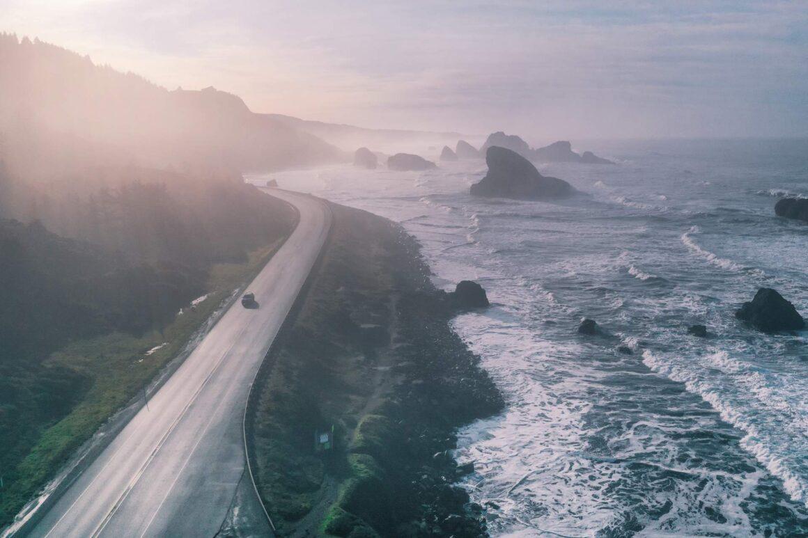 Cape Sebastian Scenic Corridor, Oregon