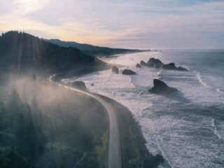 Oregon Coast Winter travel destination