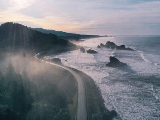 Oregon Coast Winter travel destination