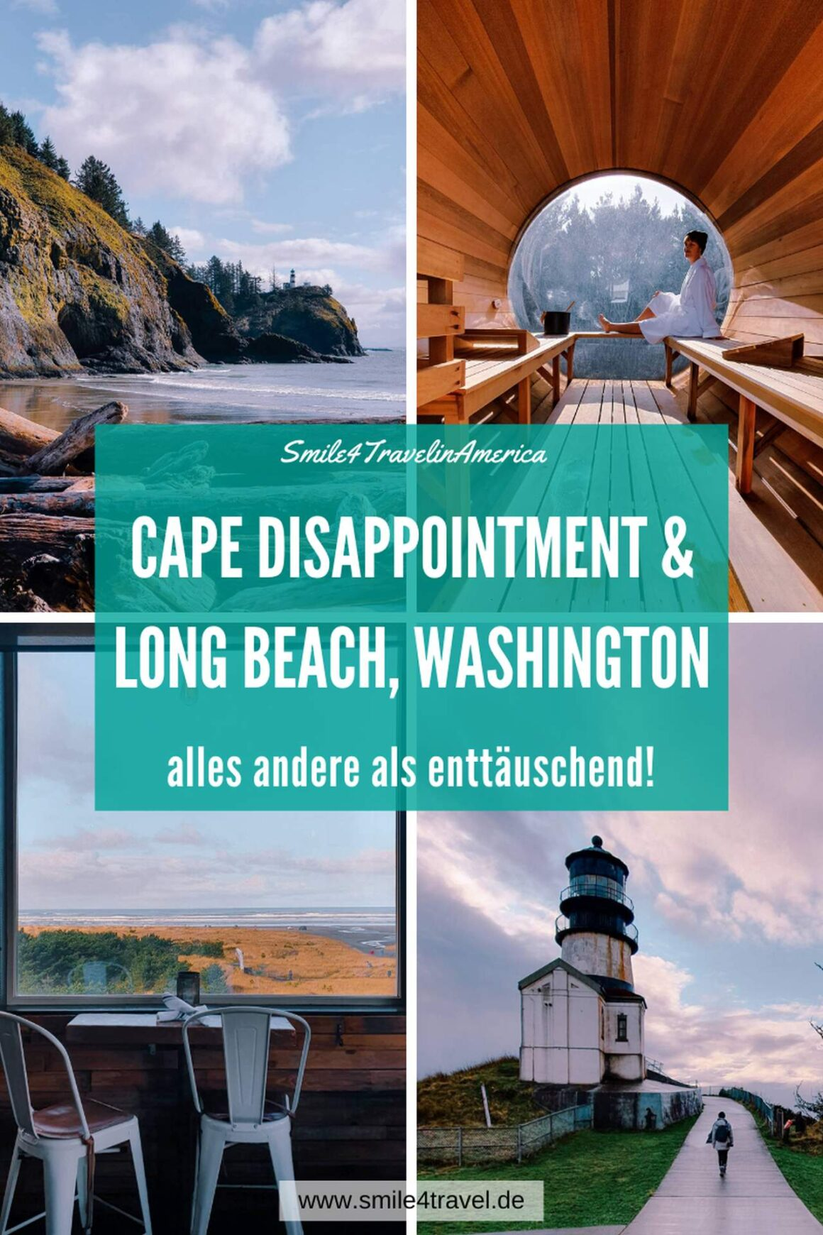 Cape Disappointment & Long Beach Pinterest