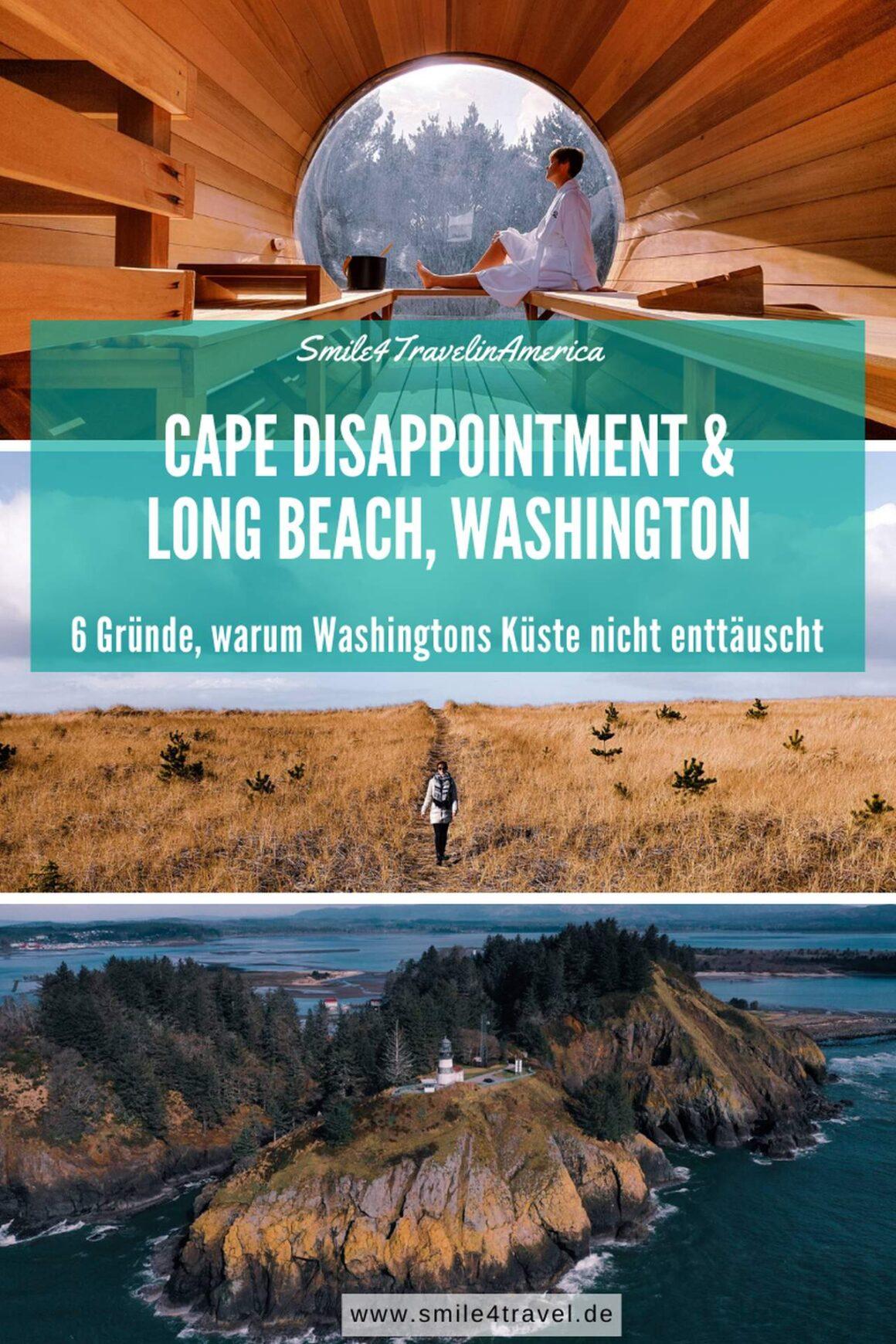 Cape Disappointment & Long Beach Washington Pinterest