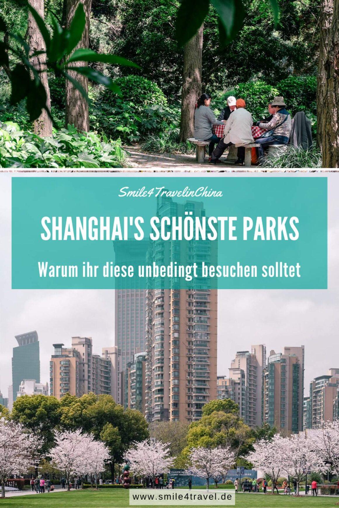 Shanghai's schönste Parks
